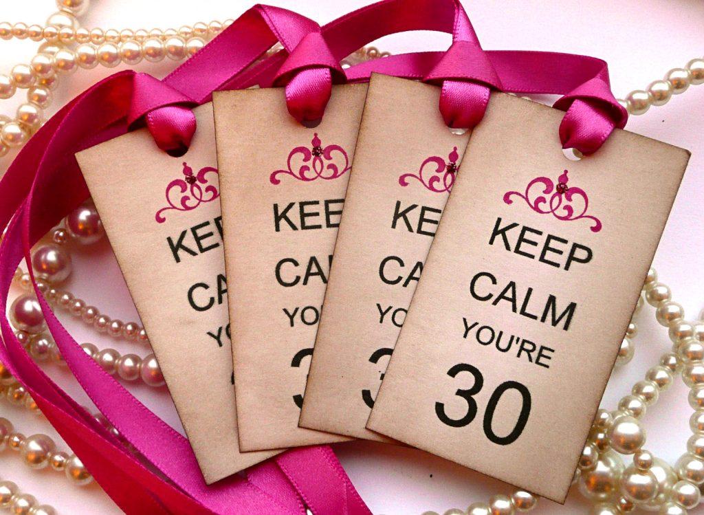 Happy 30th Birthday Best Wishes