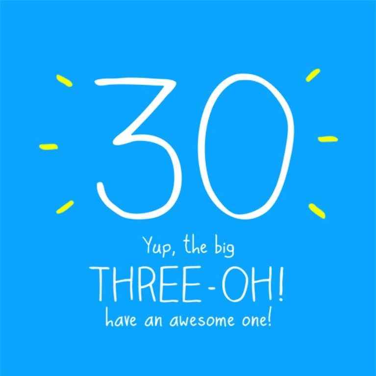 Excellent Happy 30Th Birthday Quotes Messages Pics Soshareit Funny Birthday Cards Online Overcheapnameinfo