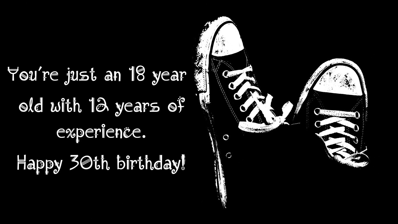 Happy 30th Birthday Quotes, Messages & Pics - SoShareIT30th Happy Birthday Wishes For Men