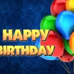 Happy Birthday Balloons Party Theme HD Images