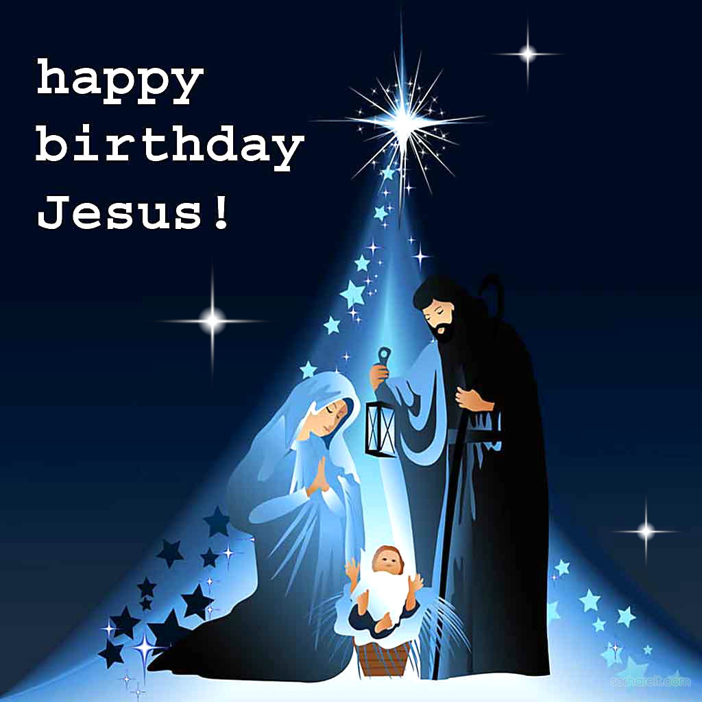 Happy Birthday Jesus Quotes, Wallpapers and Hymns - SoShareIT