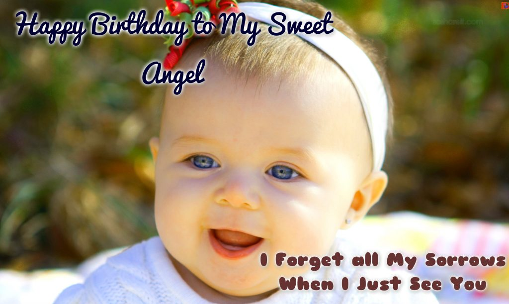 Happy Birthday Baby Wishes to my Sweet Angel