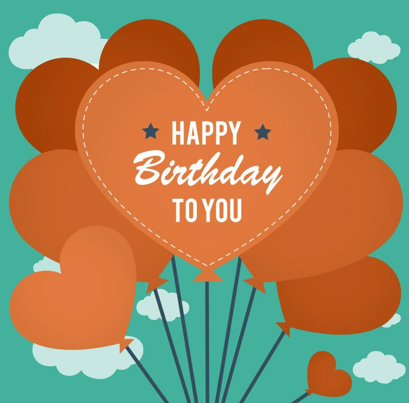 Happy birthday to you Heart Image