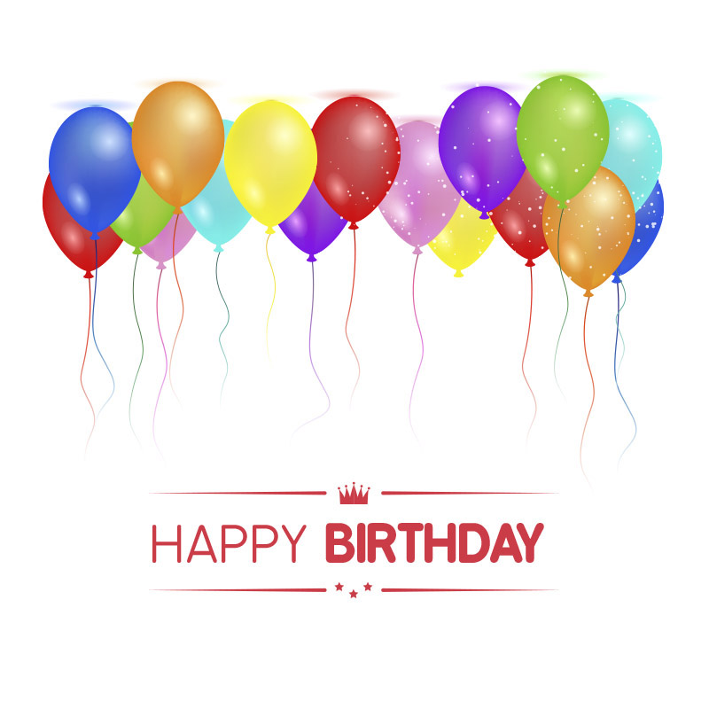 SImple Happy birthday to you image