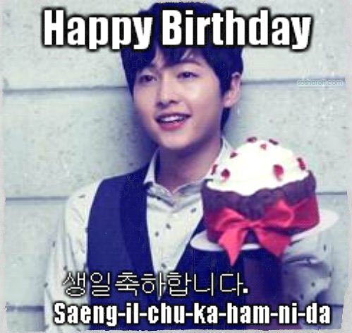 8 Happy Birthday In Korean Wishes Images Wallpapers