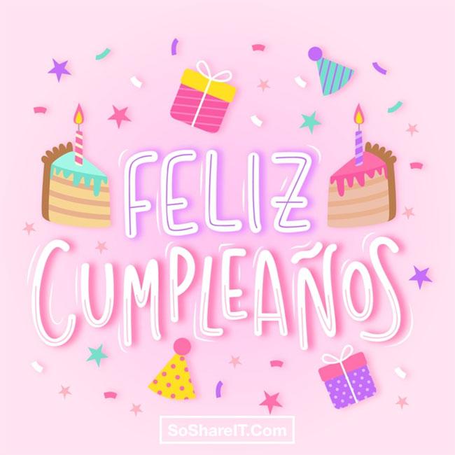 50 Happy Birthday In Spanish Felicidades Wishes