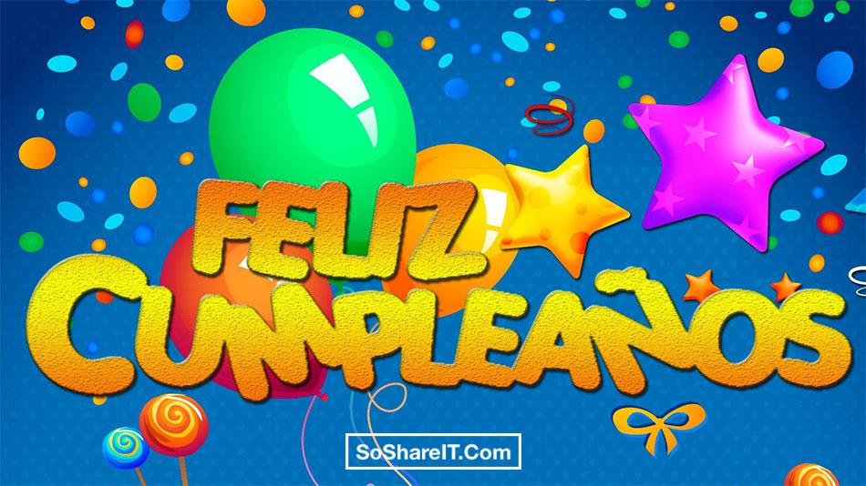 Happy Birthday Spanish