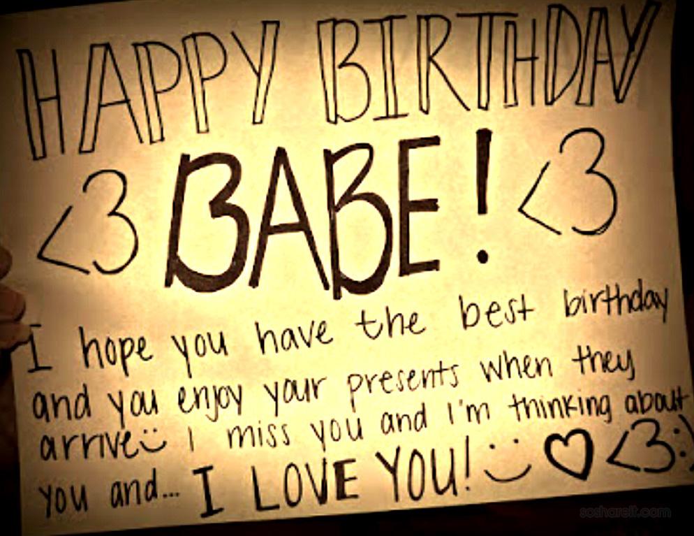 Happy Birthday My Love Wishes